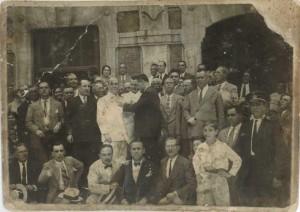 Acto imposición Medalla Trabajo Fco Diaz Romero 1930