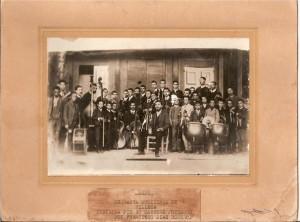Orquesta Municipal de Villena 1890.