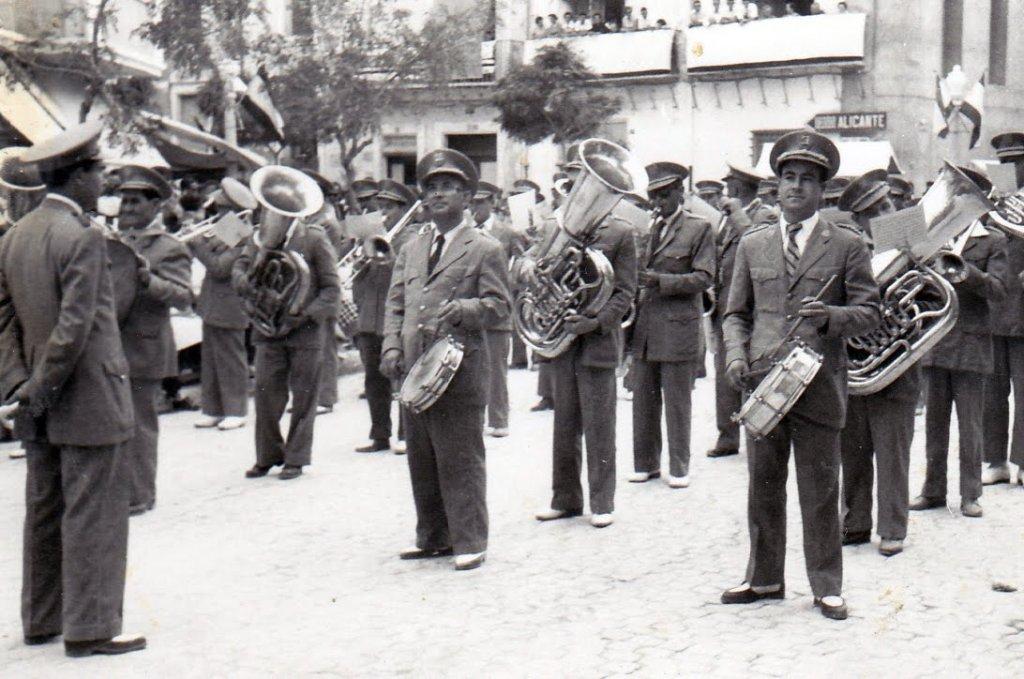 1958 la entrada banda de musica manuel carrascosa descanso fecha sc cd masiano