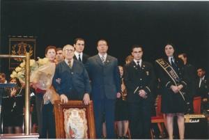 22 nov 2003 - Nombramiento de Pepe Urrea como Músico de Honor Foto A.Hdez