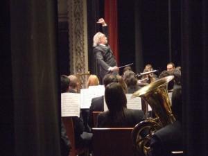 2009 Gregorio Casasempere dirigiendo el concierto de 2.009