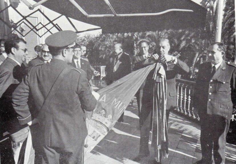 Imposición corbatín 1er Premio 1968 - Alicante