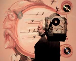 05 Pedro Marco y el cuadro realizado en directo